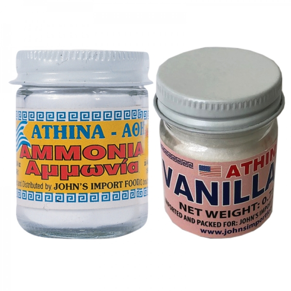 AMONIA AND VANILLA POWDER