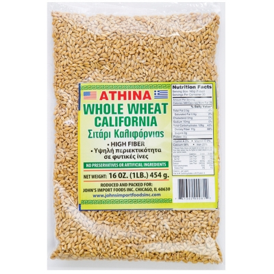 WHOLE WHEAT, CALIFORNIA
