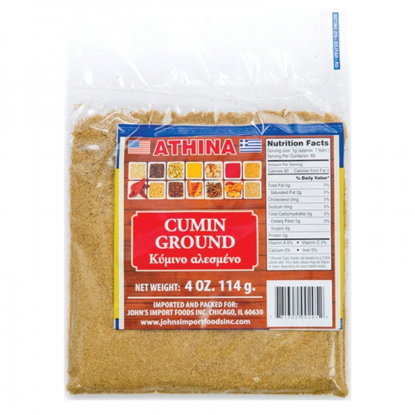 CUMIN GROUND AND WHOLE