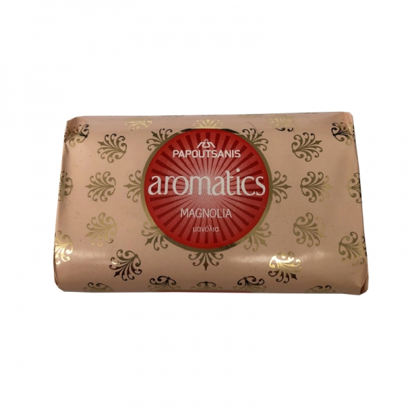MAGNOLIA SOAP AROMATIC PAPOUTSANIS, FROM GREECE