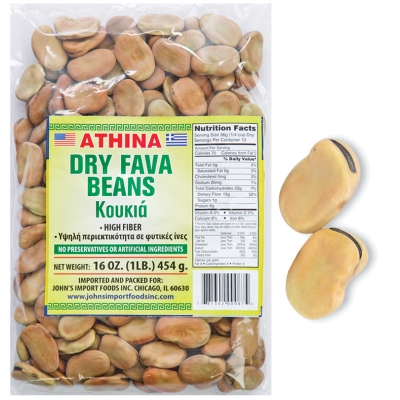 DRY FAVA BEANS LARGE, AZORES