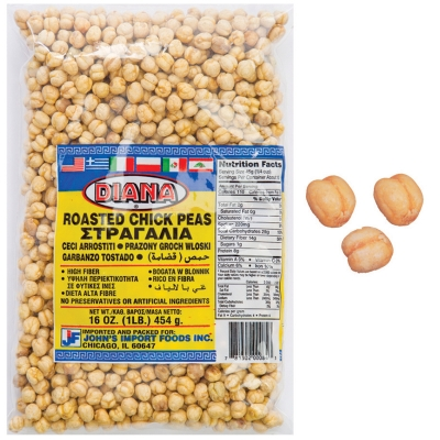 GOLDEN ROASTED CHICK PEAS