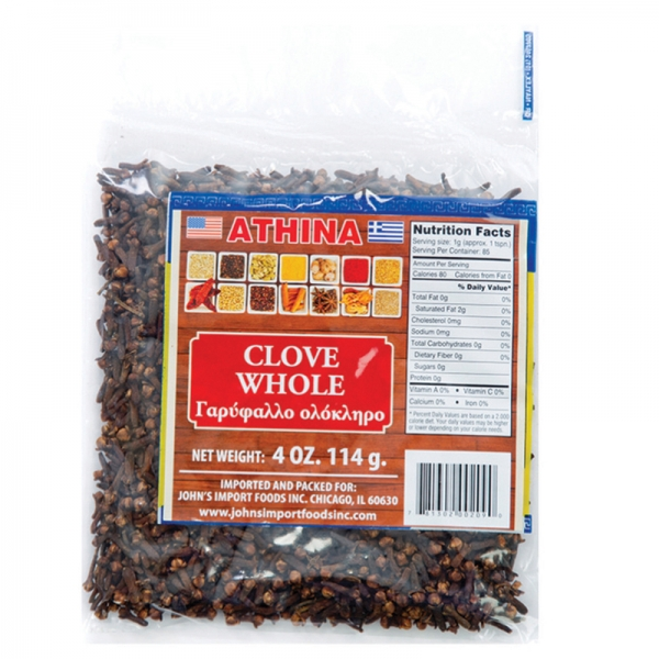 CLOVE GROUND AND WHOLE