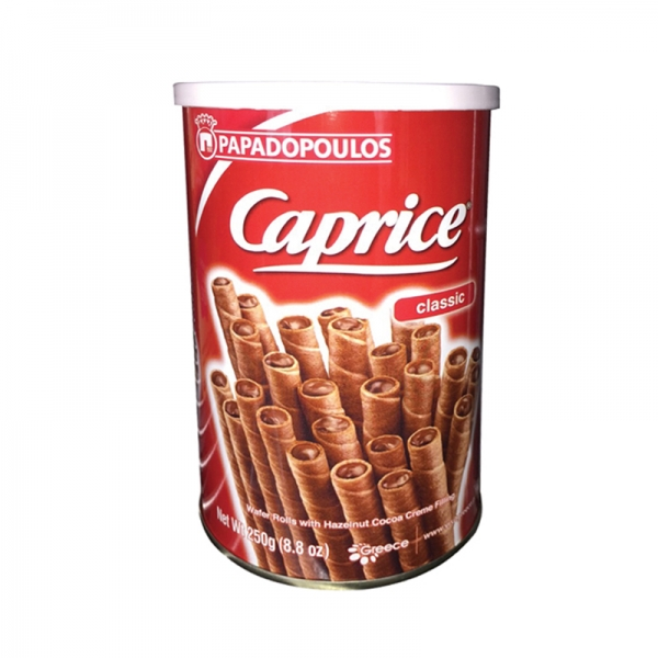 CAPRICE WAFERS COCOA, PAPADOPOULOS