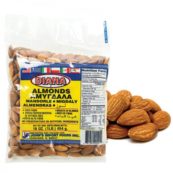 ALMONDS SHELLED