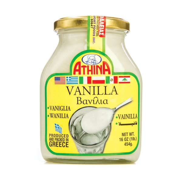 VANILLA, GREEK