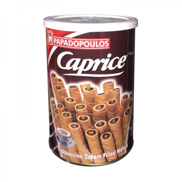 CAPRICE WAFERS CAPPUCCINO PAPADOPOULOS
