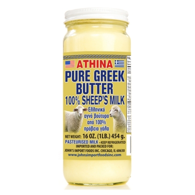 PURE GREEK BUTTER, MADE FROM 100% SHEEP'S MILK