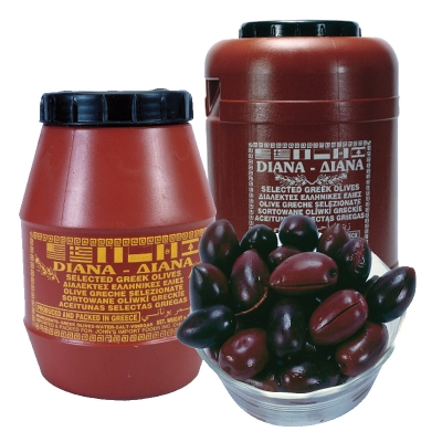 KALAMATA OLIVES IN OIL AND VINEGAR